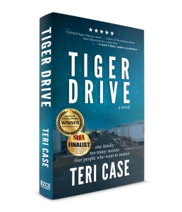 Award Winning Tiger Drive by Teri Case