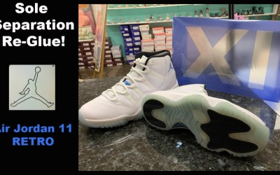 How to Fix Sole Separation – Air Jordan 11 Retro