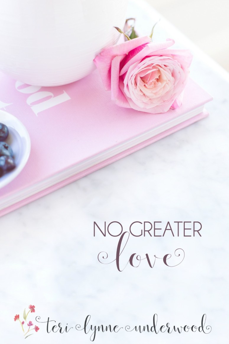 Jesus said we have no greater love than to sacrifice ourselves for our friends. Sometimes this looks a lot like not keeping record of wrongs and keeping the door open for restoration.