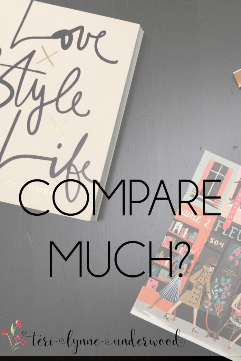We can all get caught in the comparison trap. But we must be wise and refuse to stay there.