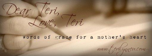 Dear Teri, Love Teri www.terilynneunderwood.com