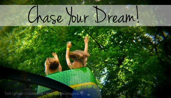 chase your dream www.terilynneunderwood.com
