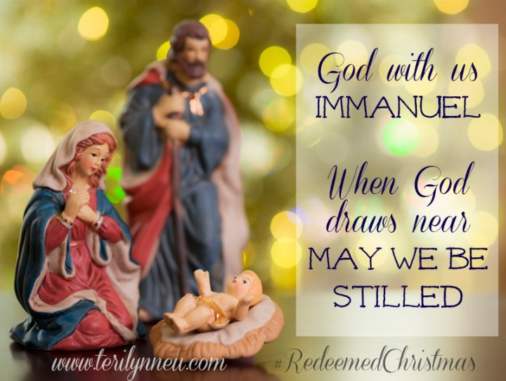 When God Draws Near May We Be Stilled