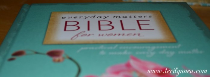 everyday matters bible for women www.terilynneunderwood.com