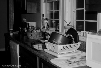 dishes done www.terilynneunderwood.com