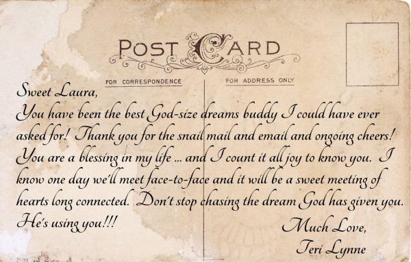 dear friend who dreams www.terilynneunderwood.com