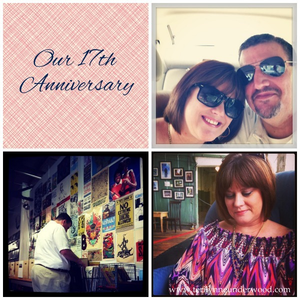 our 17th anniversary www.terilynneunderwood.com/blog