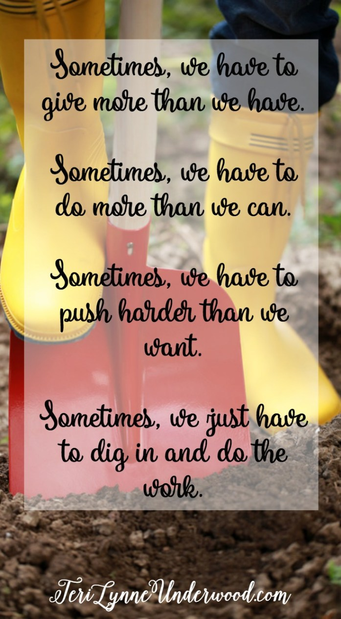 Reaching out for hope means we have to dig in when the days are long and the battles are fierce.  So, you dig in, my friend!  And I'll dig in beside you.  Because these babies of ours, they are worth it!