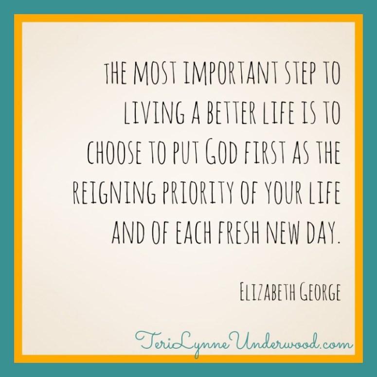 encouraging words || 31 Days of Living Well || TeriLynneUnderwood.com/blog