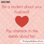 choose to be a student about your husband || Teri Lynne Underwood