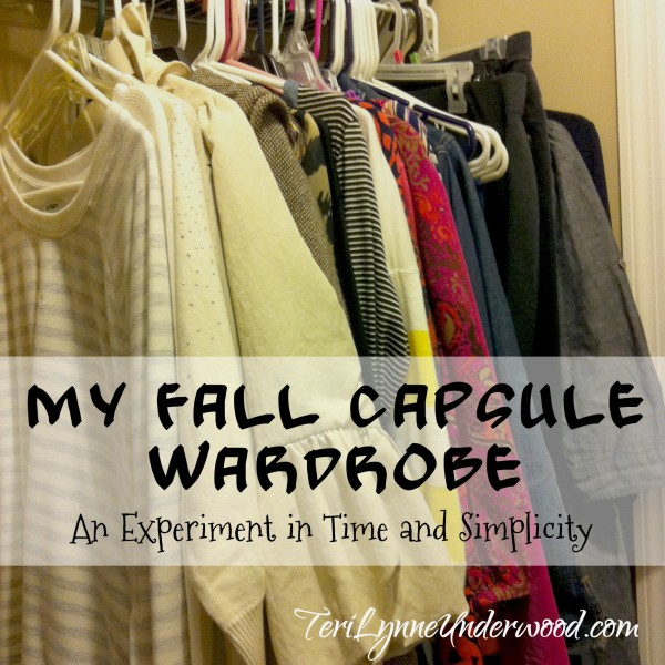 Fall Capsule Wardrobe || TeriLynneUnderwood.com