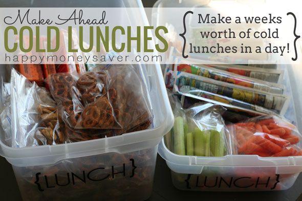 lunch box ideas via Happy Money Saver