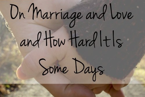 Marriage is, like everything else in our lives, about bringing glory to God.