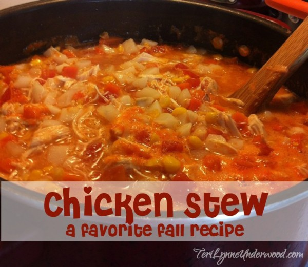 chicken stew recipe || TeriLynneUnderwood.com