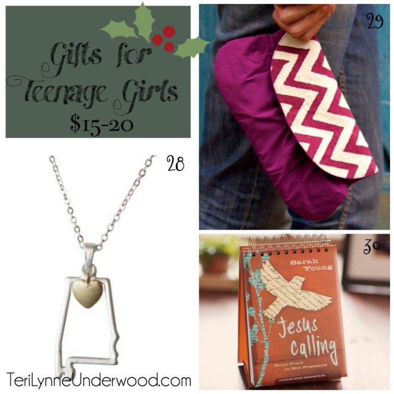 gifts for teenage girls $15-20