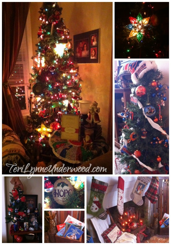 Stockings and books and trees, oh my!