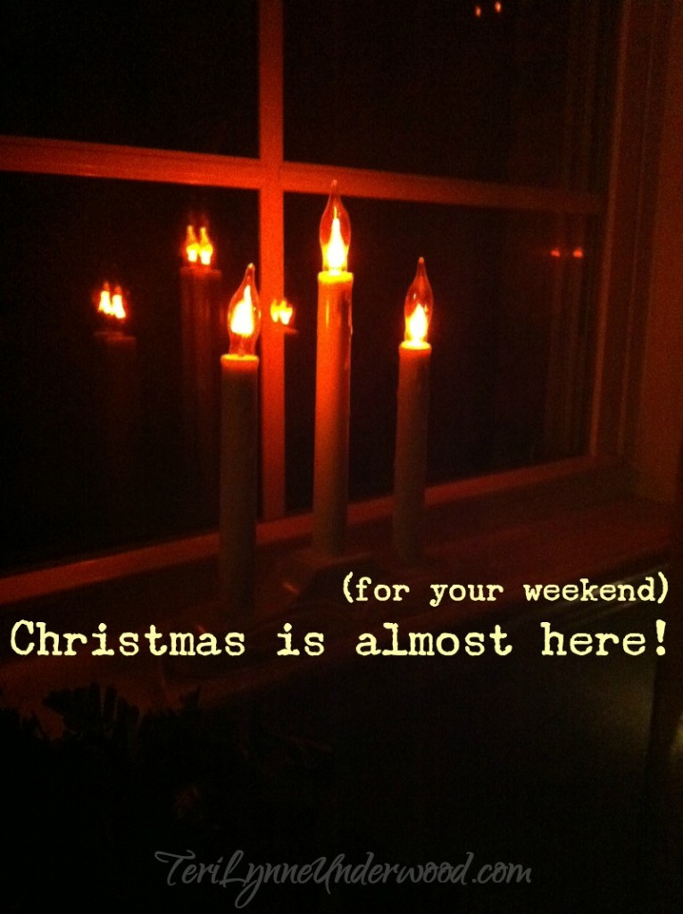 Christmas is almost here ...