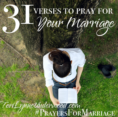 31 Verses to Pray for Your Marriage