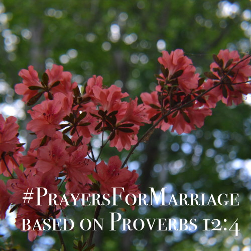 31 Verses to Pray for Your Marriage || Proverbs 12:4