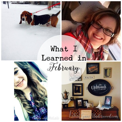 What I Learned in February 2015