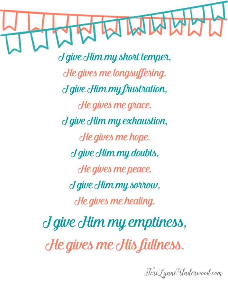 I Give ... He GIves