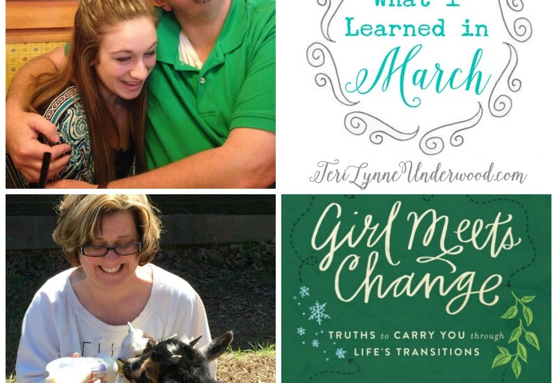 baby farm animals, quick charging your phone, copyright infringement, and more ... What I Learned in March