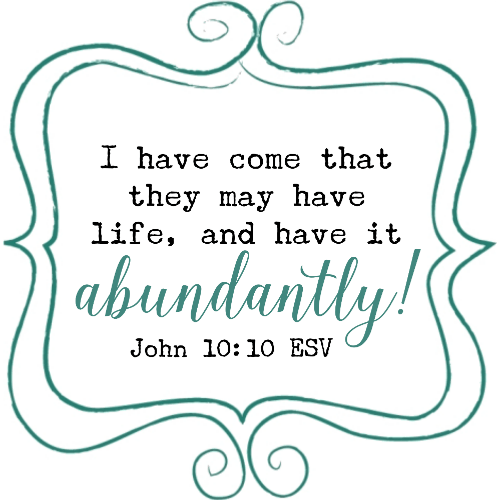 Life to the full isn't centered around a full schedule. Abundant life isn't found by doing more.