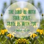 2 Timothy 4:22