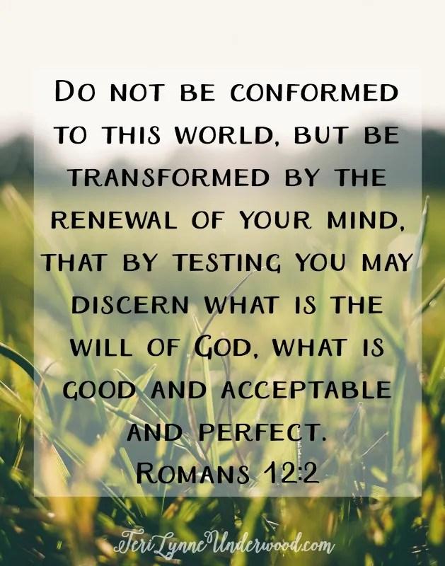 Sunday Meditations || Romans 12:2