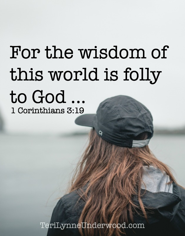 When we look at what the world says is wise, it isn't hard to see why it is folly to God. STAND OUT: 7 traits of a counter cultural life