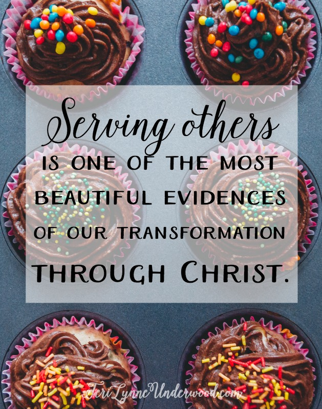 One of the most beautiful evidences of our transformation in Christ is following His example of serving others. We serve because it is a fragrant offering to the Lord. We serve because we have been served in the most incredible manner possible — Jesus gave His life for us.
