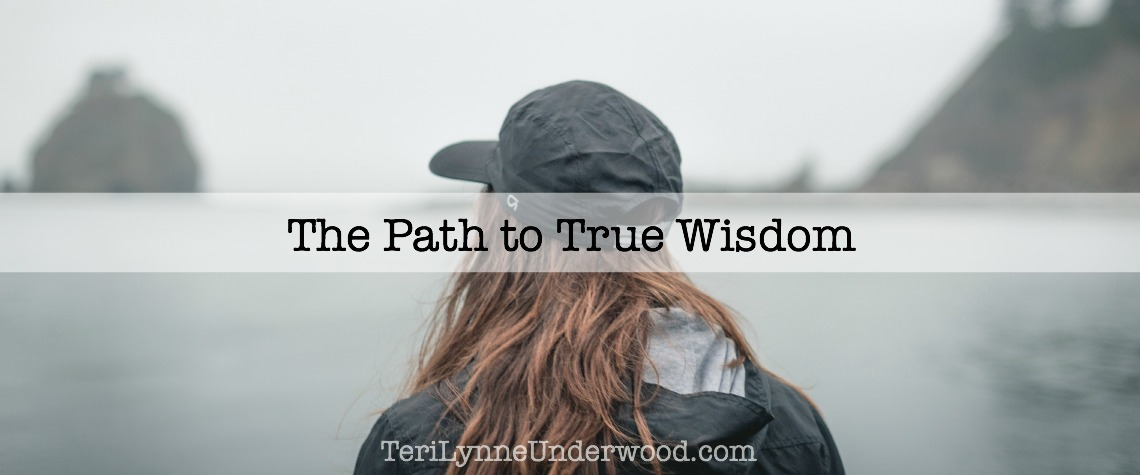 the path to true wisdom {STAND OUT: 7 traits of a counter cultural life}