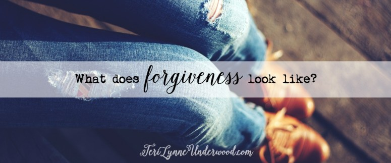 """Biblical forgiveness is often a process and takes time. Forgiveness is a rarely a """"one and done"""" thing. Often, we have to forgive day after day, time after time.  In contemplating what the process looks like, I realized another thing about forgiveness and how to put it into practice: Forgiveness is taking a step TOWARD someone when everything in you really just wants to step AWAY."""