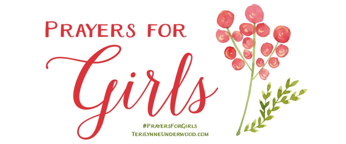 Prayers for Girls ... a new community for moms (and others) who are committed to praying Scripture for the girls they love!
