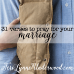 #MarriagePrayers || 31 verses to pray for your marriage || Join Scott and Teri Lynne Underwood for a month-long prayer journey for your marriage!!