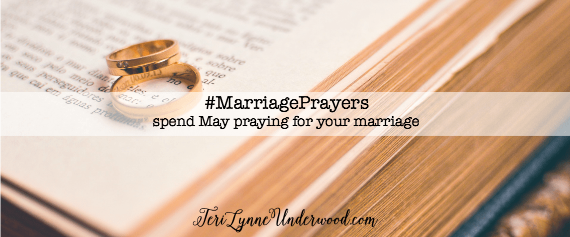 Join Scott & Teri Lynne Underwood in May for #MarriagePrayers — 31 Verses to Pray for Your Marriage