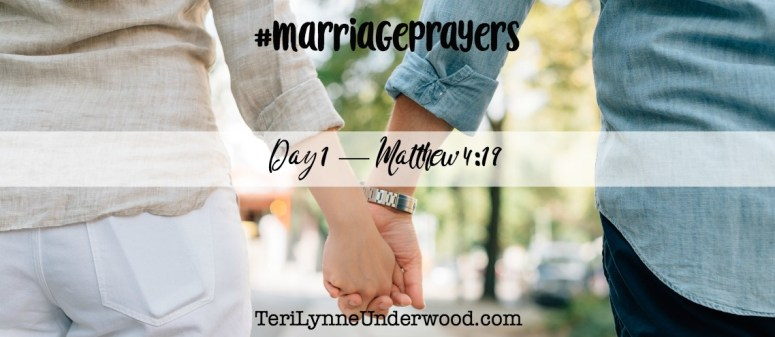 #MarriagePrayers with Scott & Teri Lynne Underwood || 31 verses to pray for your marriage