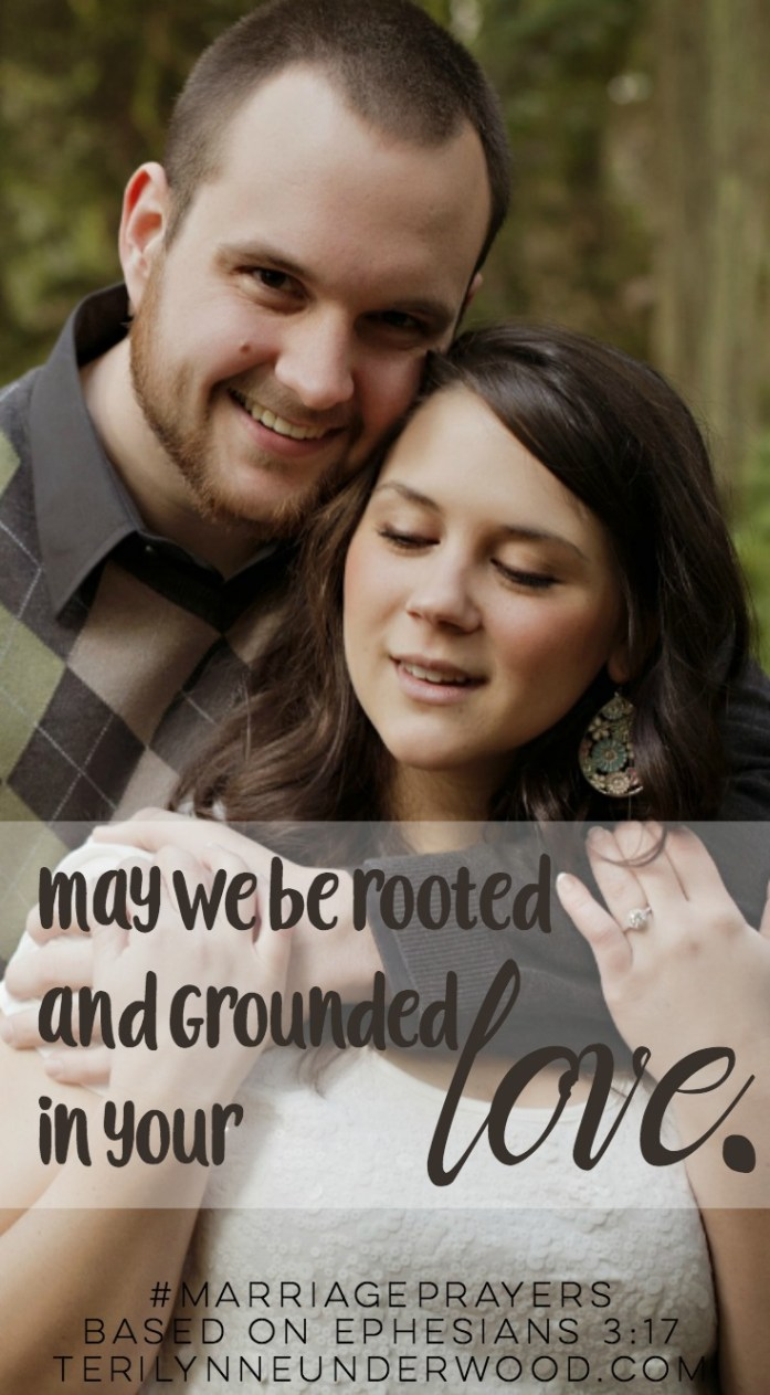 Thank you for joining us for #MarriagePrayers: 31 Verses to Pray for Your Marriage. Scott and I will be sharing a new verse and prayer every day throughout May, leading up to our 20th anniversary on June 1. You can find every day's post indexed here. We pray you will be encouraged and challenged as you pray God's Word for your marriage.