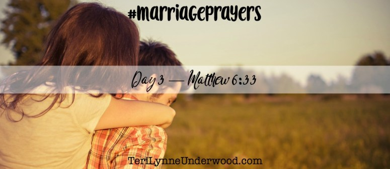 #MarriagePrayers with Scott and Teri Lynne Underwood    31 verses to pray for your marriage
