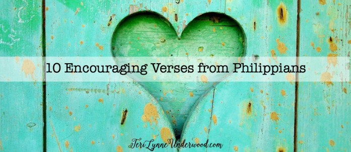 10 encouraging verses from Philippians