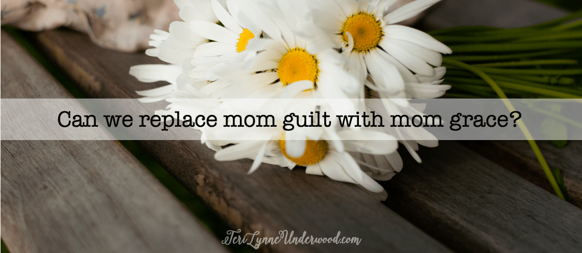 Mom guilt is the worst. But what if we started choosing mom grace — for ourselves and the other moms we know?