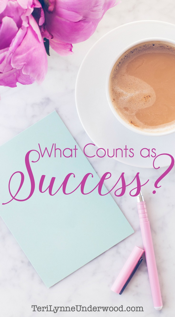 When we're obedient and doing whatever it is God has called us to do — we are successful! Whether that is writing a best-selling book or baking cookies for the neighborhood kids, our success is less about what we're accomplishing and more about Who we're serving.