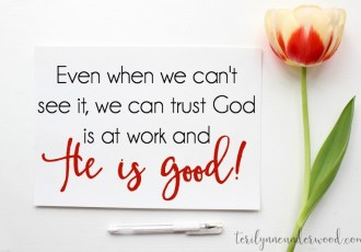Do you really believe God is a good, good Father?