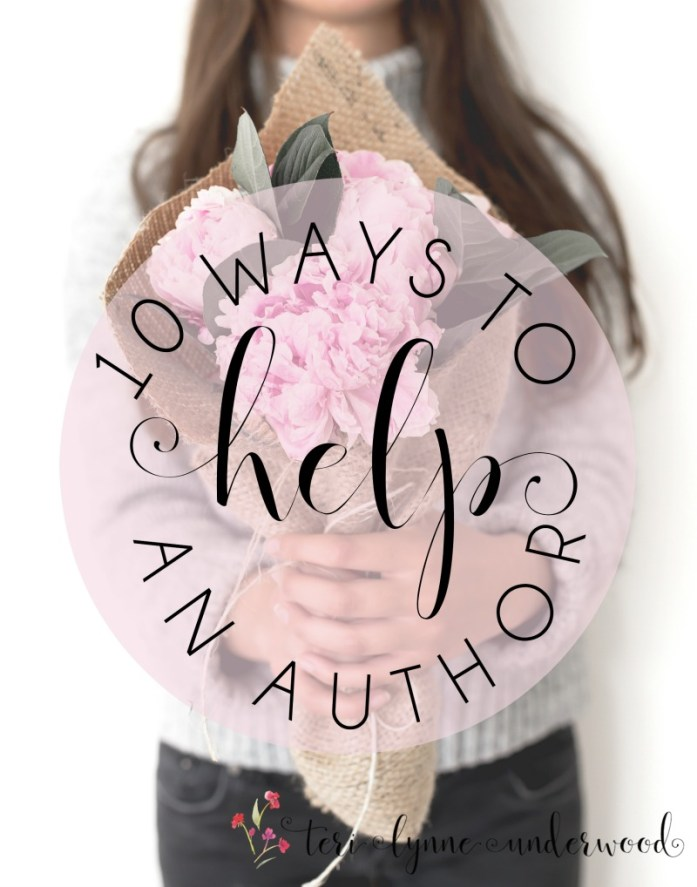"""People are asking, """"How can I support you with your book?"""" And I've not had a very good answer until now —— here are 10 ways to help an author."""