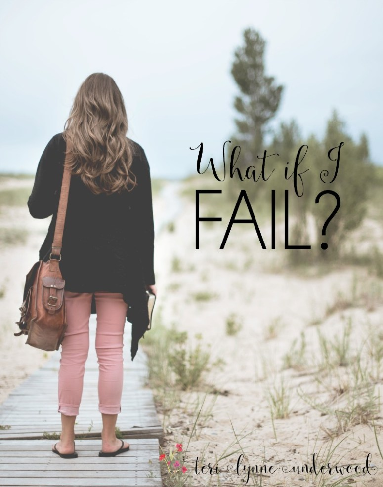"""When we get caught up in thinking, """"What if I fail?"""" we need to be reminded our job is obedience. God handles the results."""