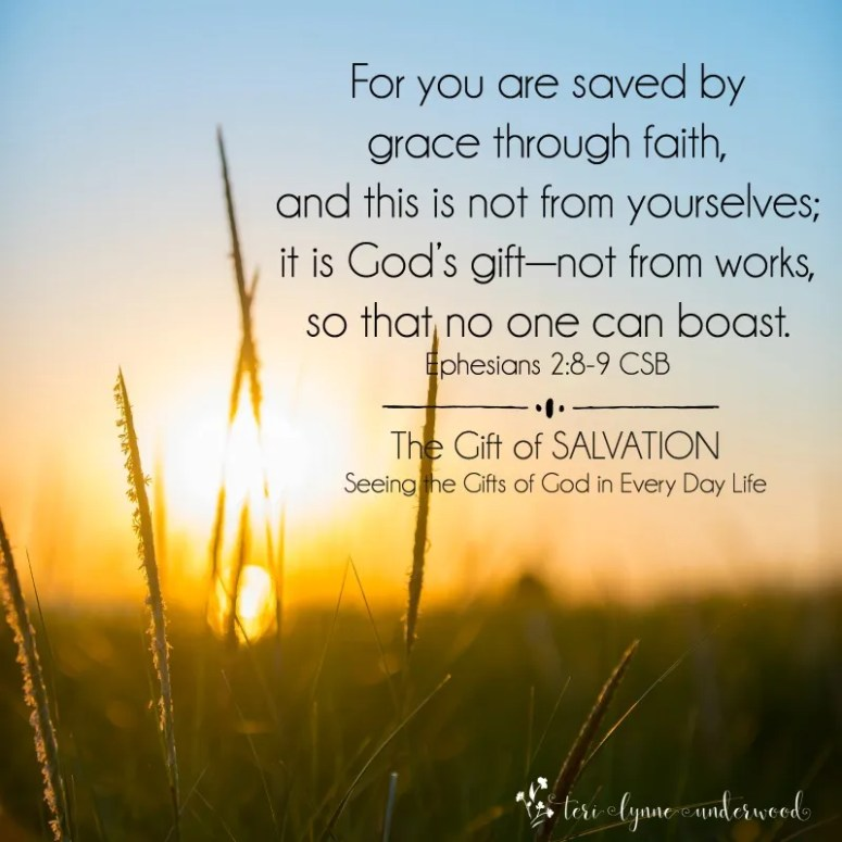 Spend October seeing the gifts of God in every day life ... cherishing the true gift of our salvation (Ephesians 2:8-9). #lopsidedliving