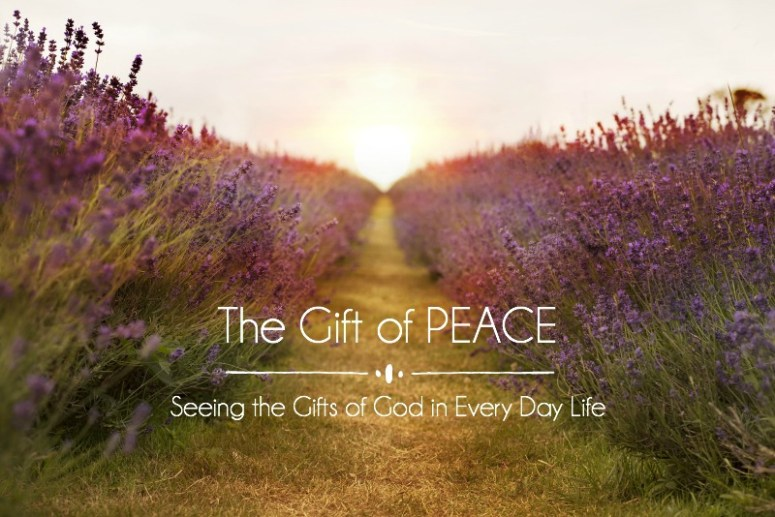 One of the great challenges of being a Christ-follower is the admonition to pursue peace. We're called to live in peace, to promote peace, to offer peace. In all situations, with all people.