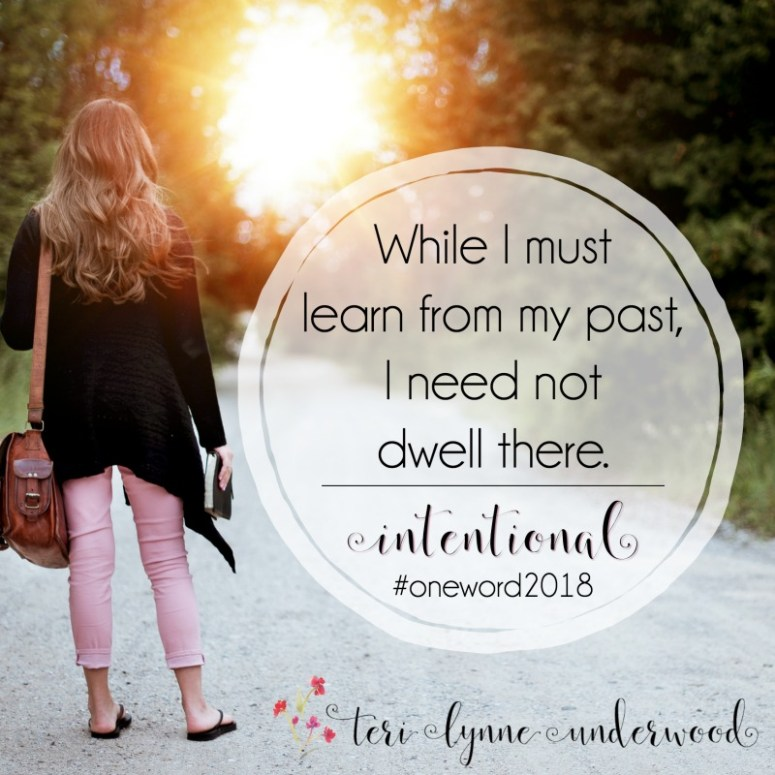 Do you choose #oneword each year? In 2018, my focus is on being INTENTIONAL in every area of my life and there are two areas in which I'm starting. #intentional2018