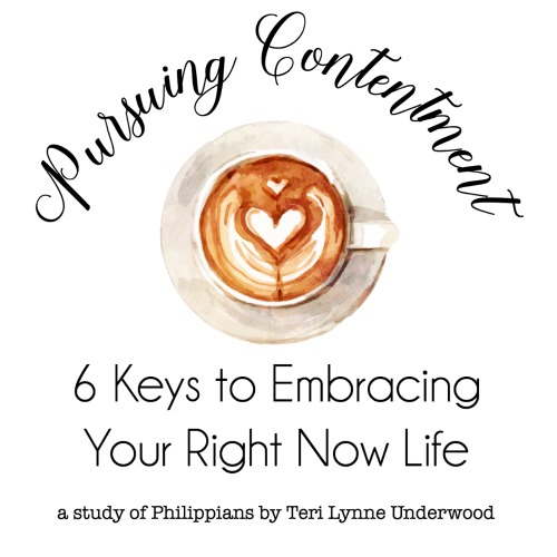 It happens to all of us. Life isn't what we'd expected or planned. Maybe you are in a place where your right now life is a little disappointing? Join Teri Lynne for a brand new Bible study and discover 6 keys to pursuing contentment from the book of Philippians.