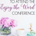 Join Teri Lynne Underwood & 20+ other Bible teachers for the brand new ENJOY THE WORD Bible conference. Co-hosted by Katie Orr & Jami Balmet, this brand new conference will encourage and equip women to study the Bible with confidence. May 2-4, 2018.